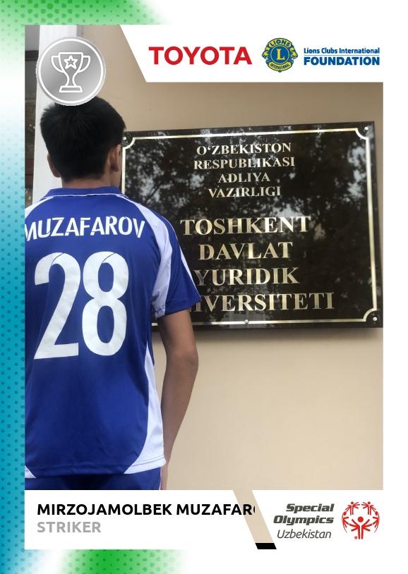MIRZOJAMOLBEK Muzafarov